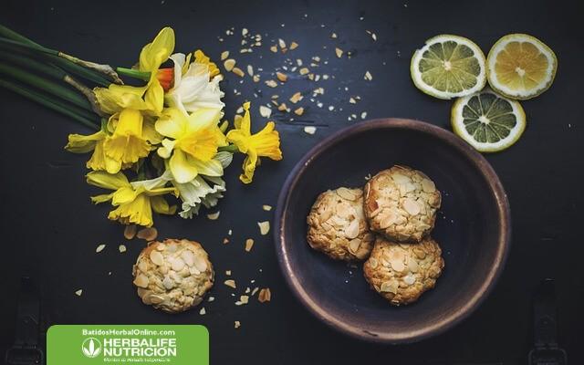 Receta de galletas de avena, ajonjolí y linaza para bajar de peso