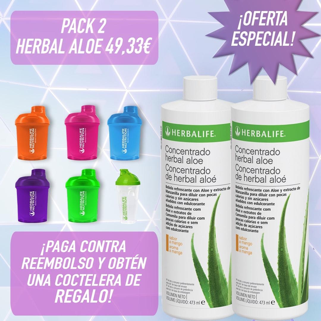 Pack 2 bebidas de Aloe Herbalife