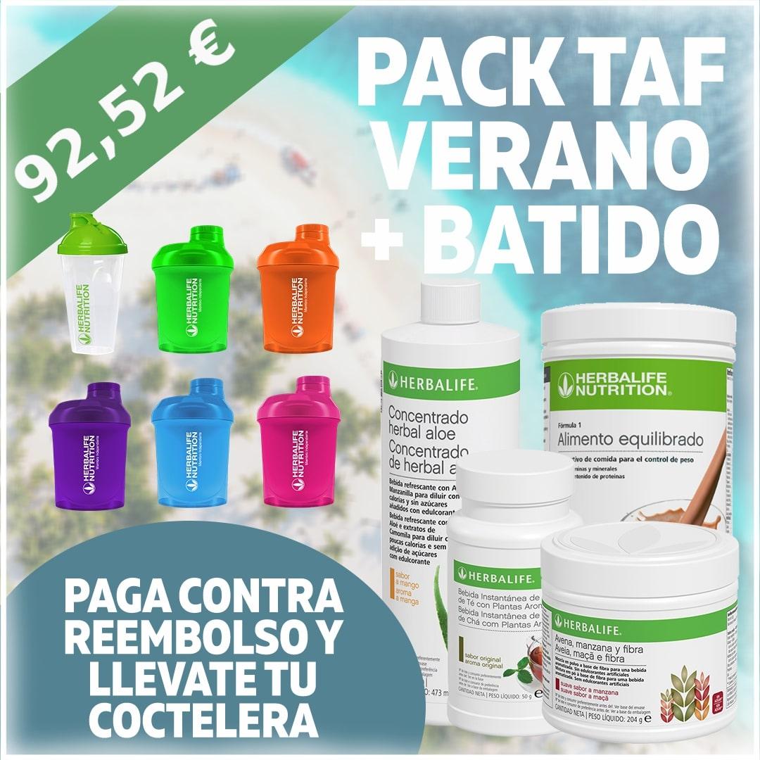 Pack TAF + Batido