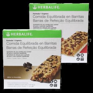 Barritas Herbalife fórmula 1 Express