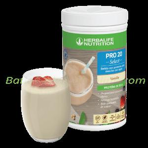 PRO 20 Select Herbalife batido proteínas