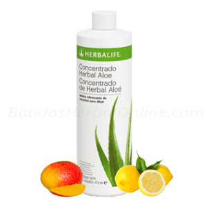 Aloe bebida concentrado herbal