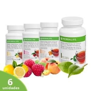 Pack 6 bebidas de té Herbalife