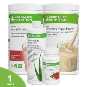 Pack medio control de peso Herbalife   1 mes