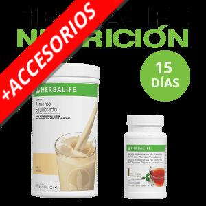 Pack básico Herbalife + Accesorios | 15 días