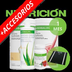 Pack medio control de peso Herbalife | 1 mes + Accesorios